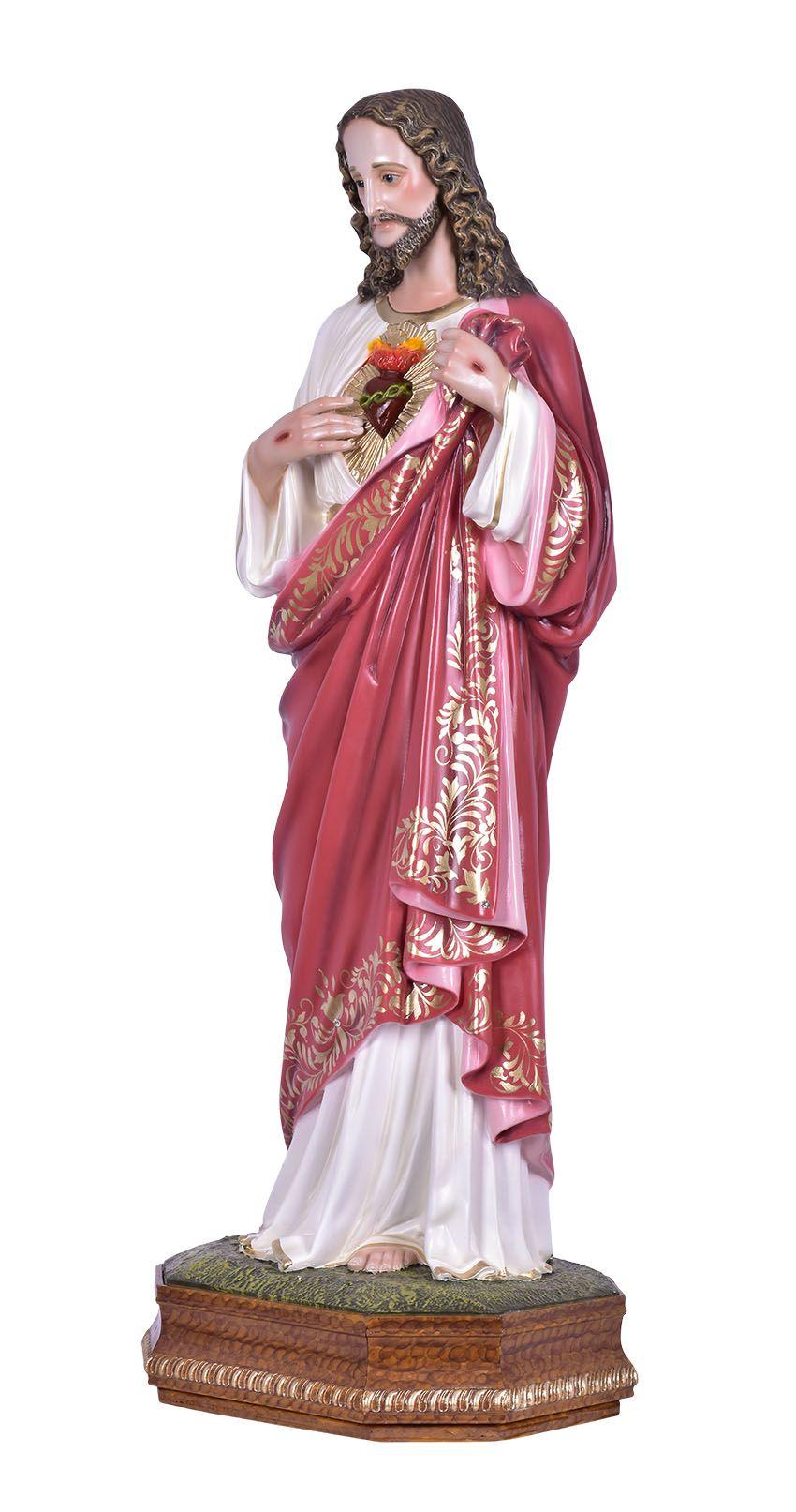 Imagem Sagrado Coração de Jesus Durata 80 cm