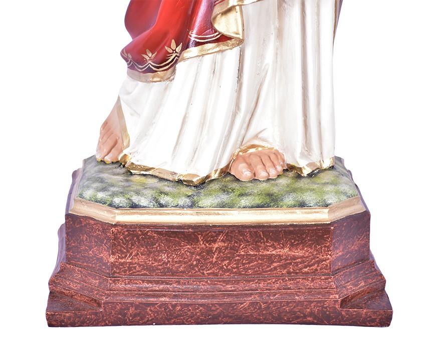 Imagem Sagrado Coração de Jesus Resina 100cm
