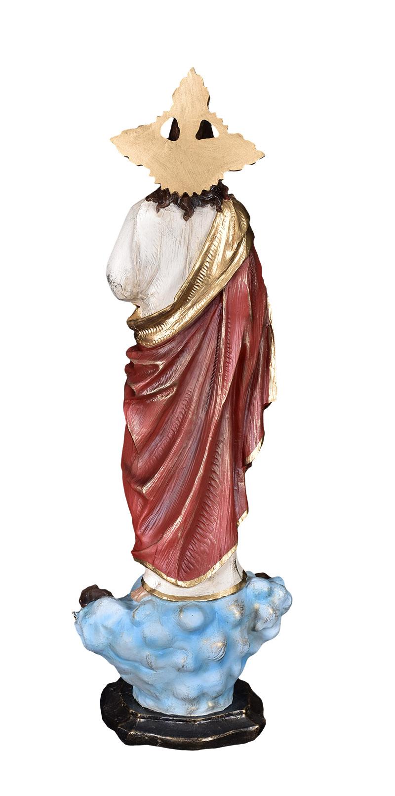 Imagem Sagrado Coração de Jesus Resina 60 cm Modelo 2