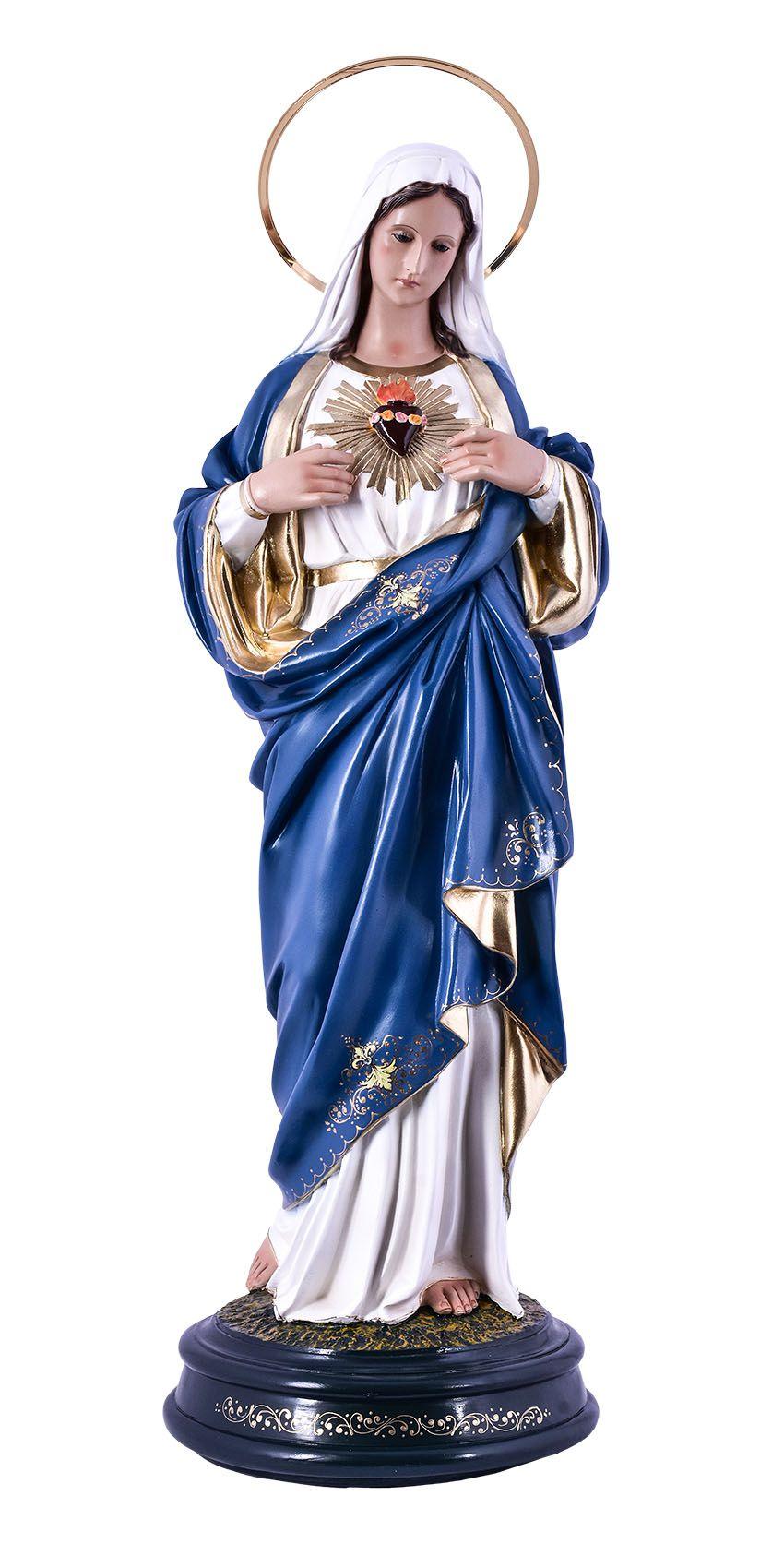 Imagem Sagrado Coração de Maria Durata 60cm