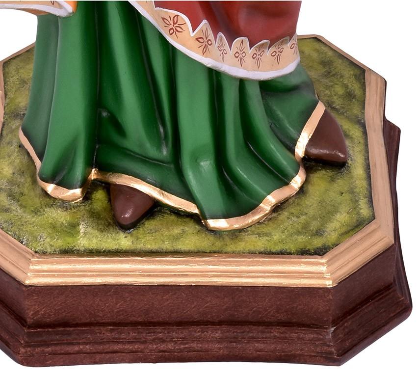 Imagem Santa Luzia Resina 100cm