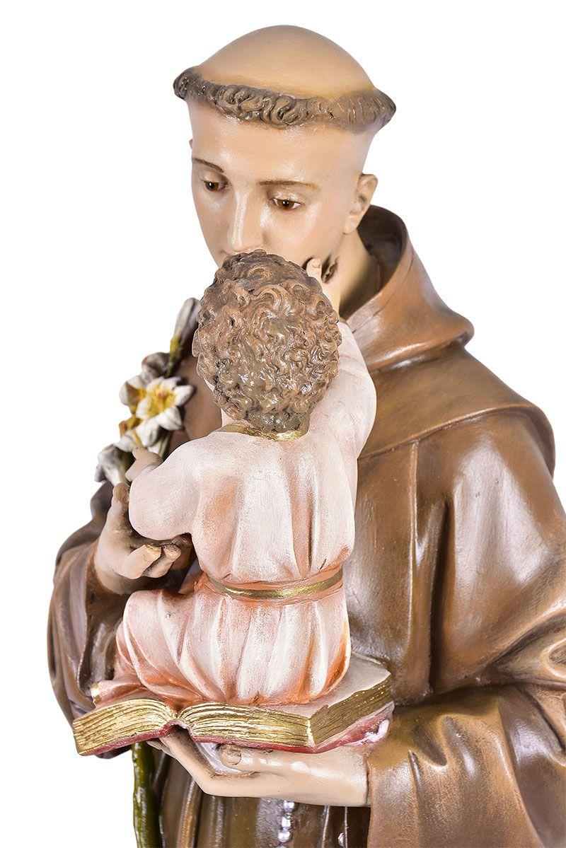 Imagem Santo Antônio Fibra 100 cm