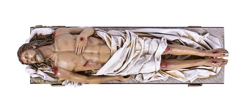 Imagem Senhor Morto Fibra 180 cm