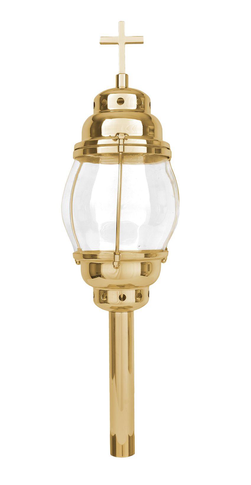 Lanterna Procissão Dourada 95