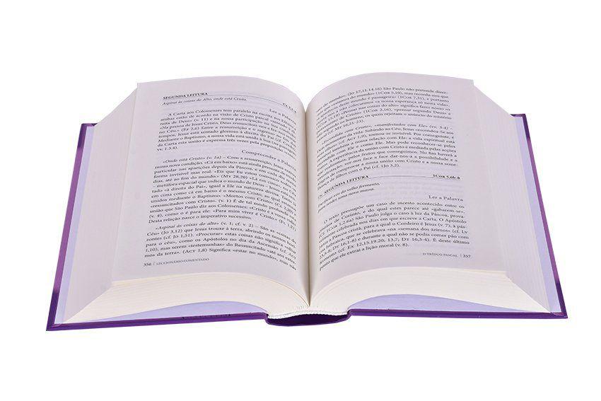 Lecionário Comentado Quaresma e Páscoa