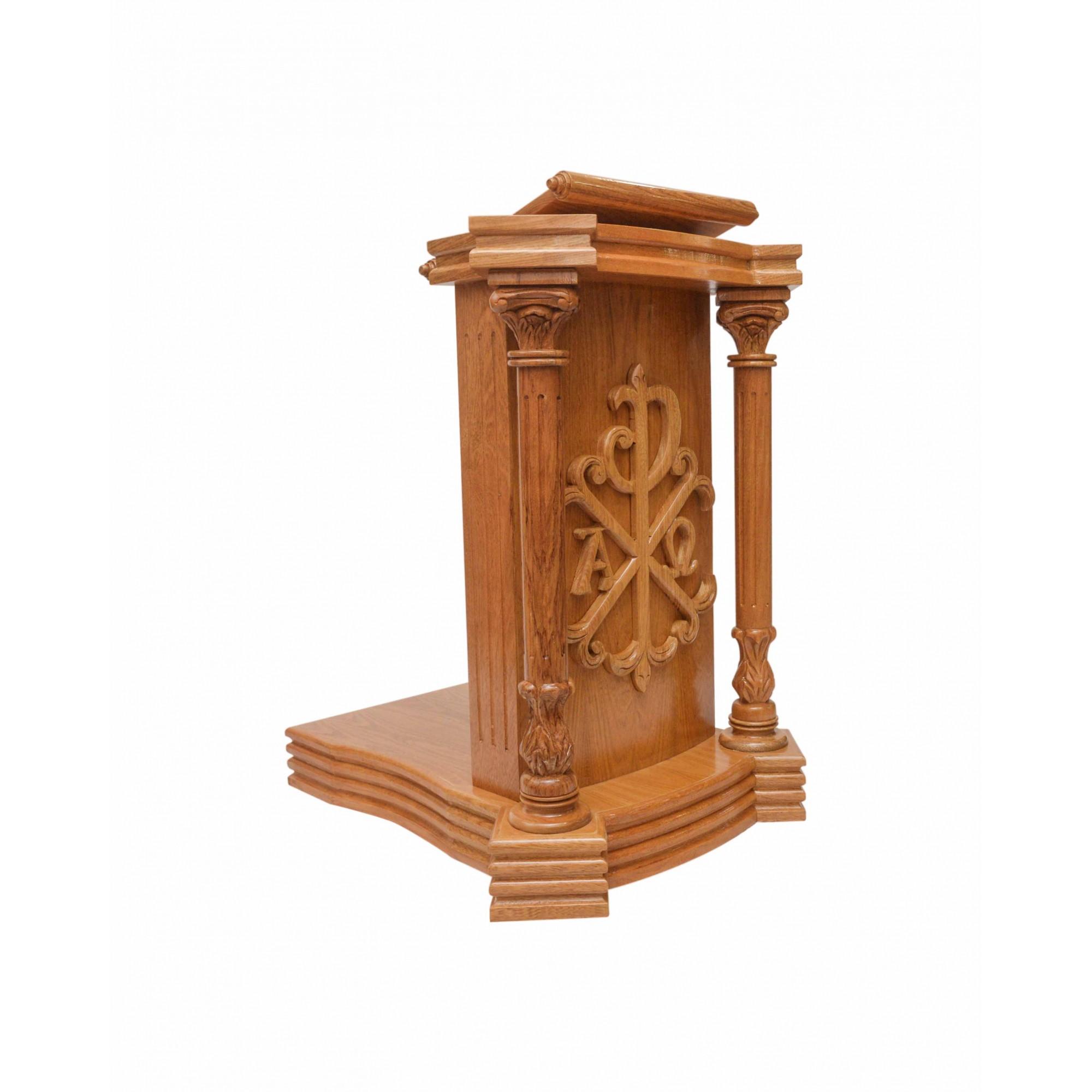 Mesa da Palavra Roma Entalhada 110 cm