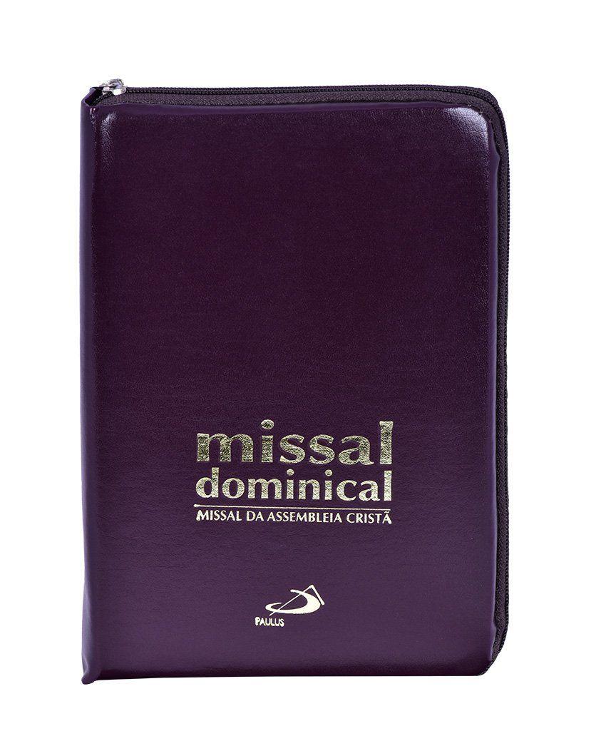 Missal Dominical com zíper