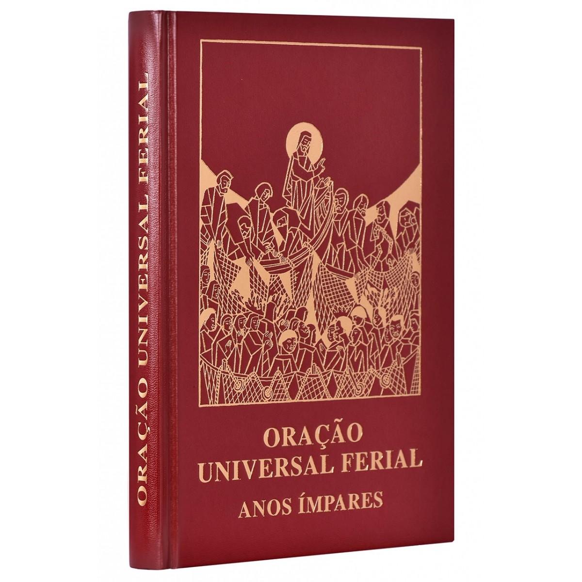 Oração Universal Ferial Anos Ímpares