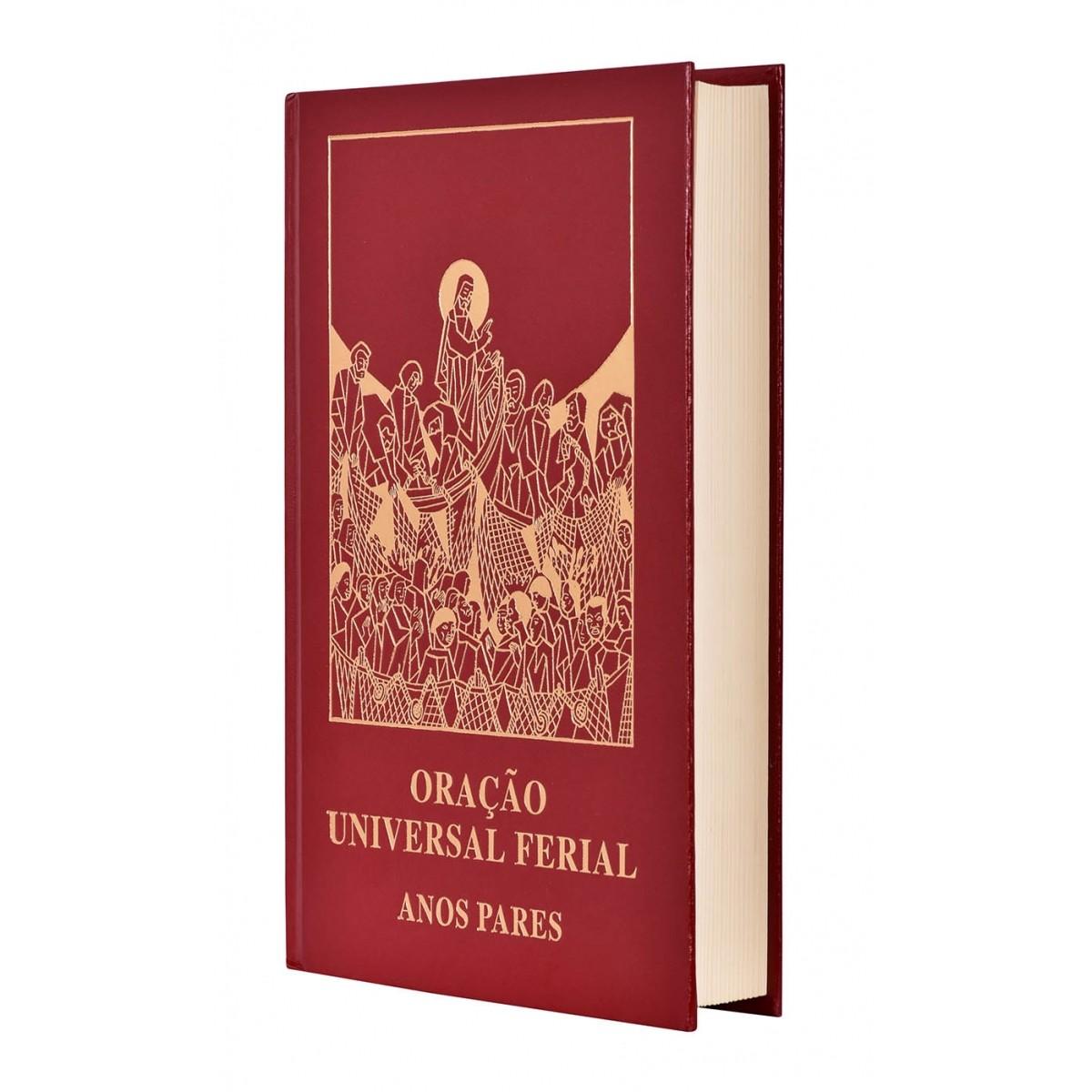 Oração Universal Ferial Anos Pares