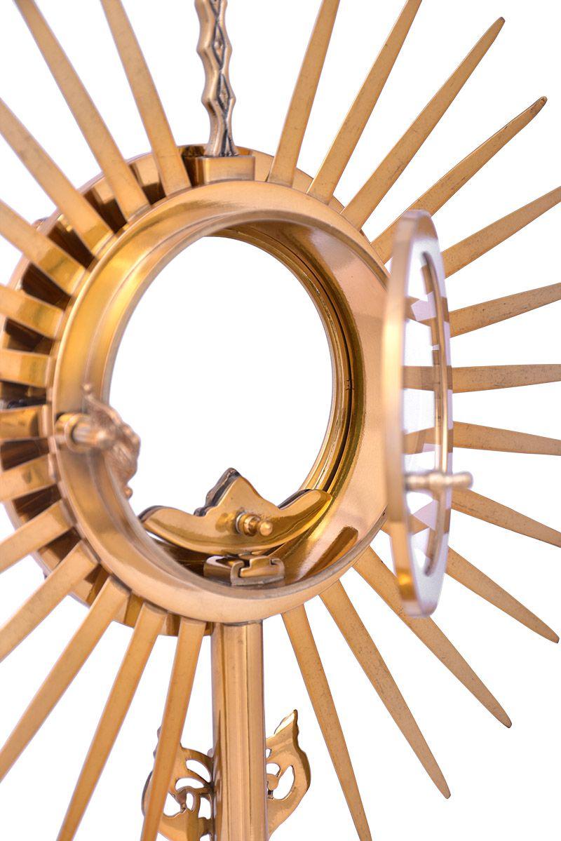 Ostensório Dourado F399B-1 40cm