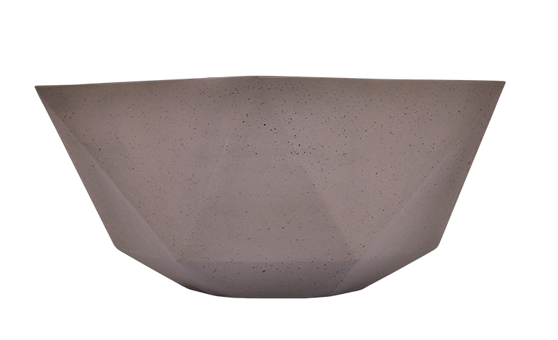 Pia Batismal 424606 Marrom 42x42x17cm