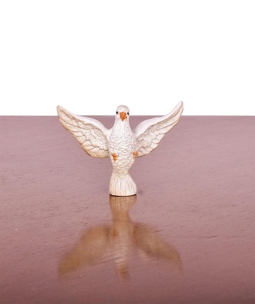 Pia Batismal Madeira e Resina com Tampa MD0080