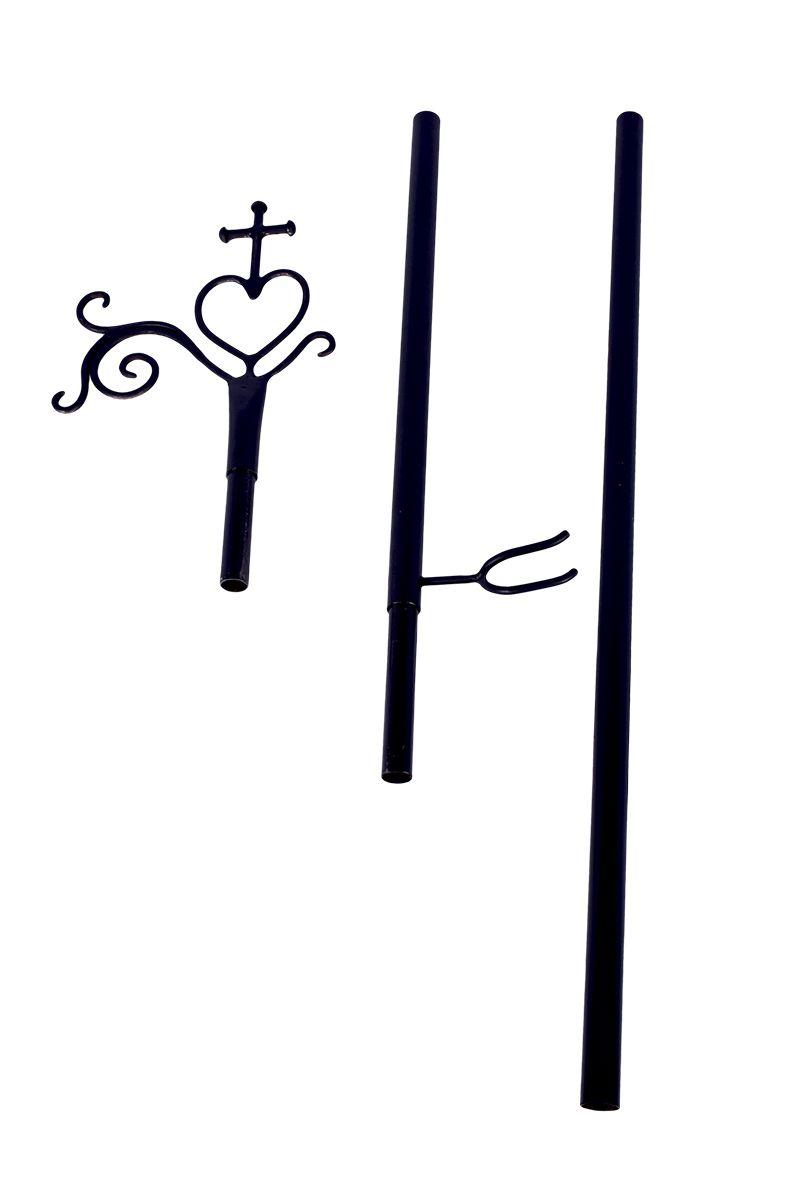 Porta Turíbulo Ferro 157cm