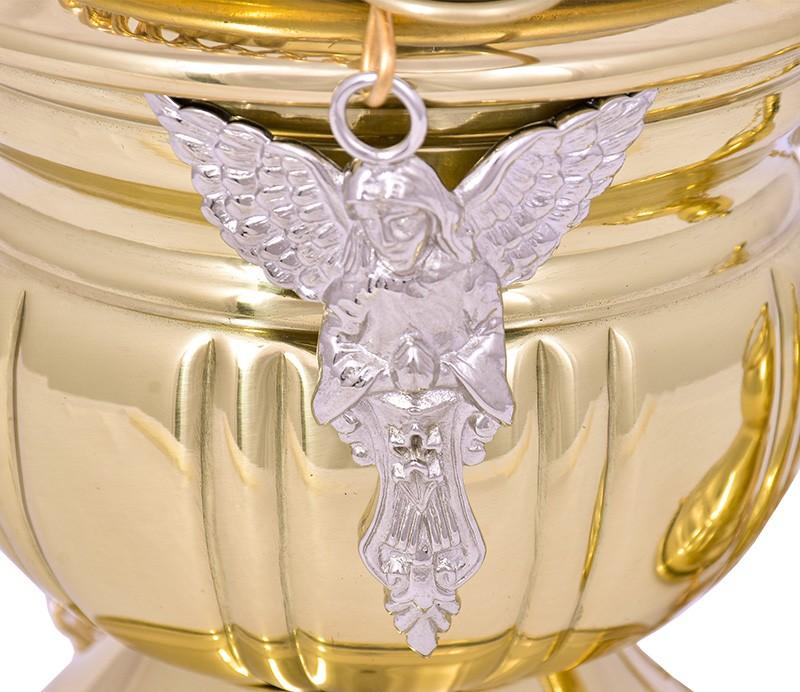 Turíbulo Grande Dourado 3954