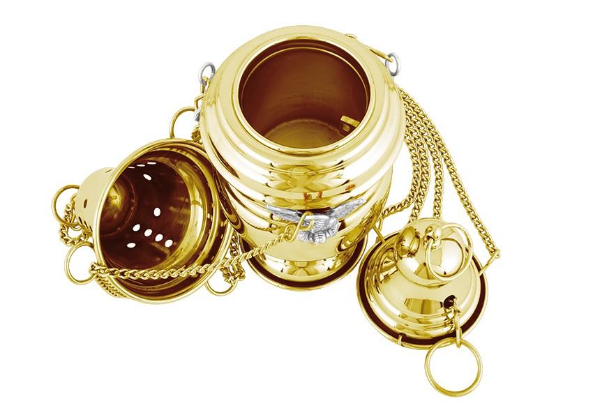 Turíbulo Pequeno Dourado 3951