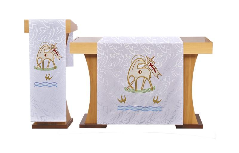 Véu de Altar Bordado Cordeiro FA131