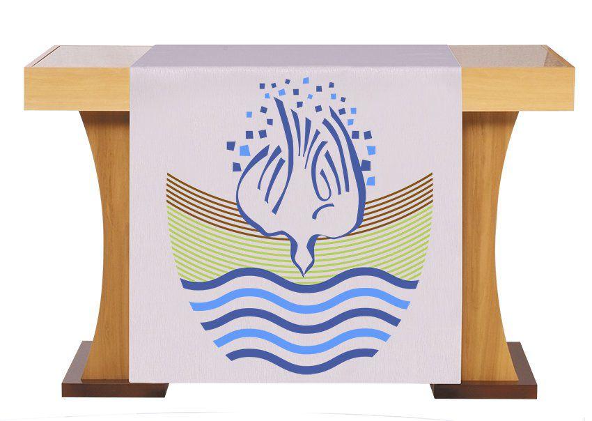 Véu S226 de Altar Batismo