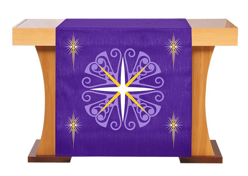 Véu S228 de Altar Advento