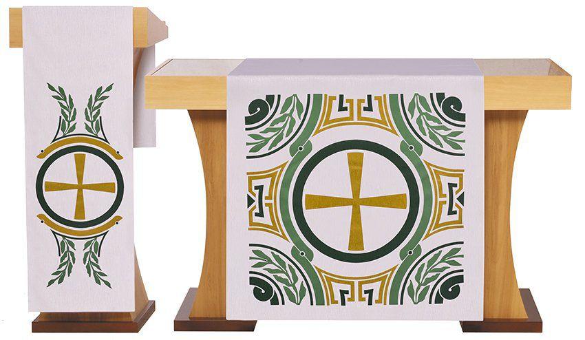 Véus de Altar e Estante Tempo Comum Belém S200 S201