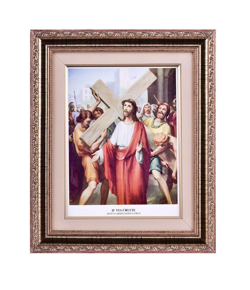 Via-Sacra 15 quadros 34 x 39cm