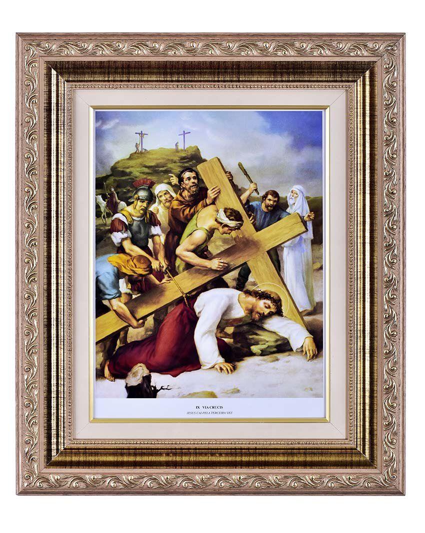 Via-Sacra 15 quadros 30 x 40 cm