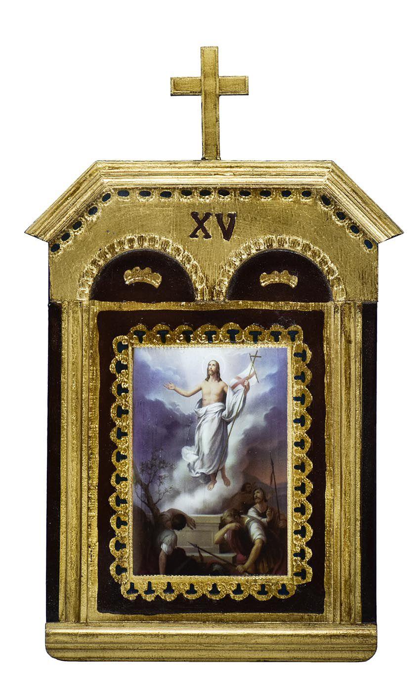 Via-Sacra Capitel 15 quadros VS08