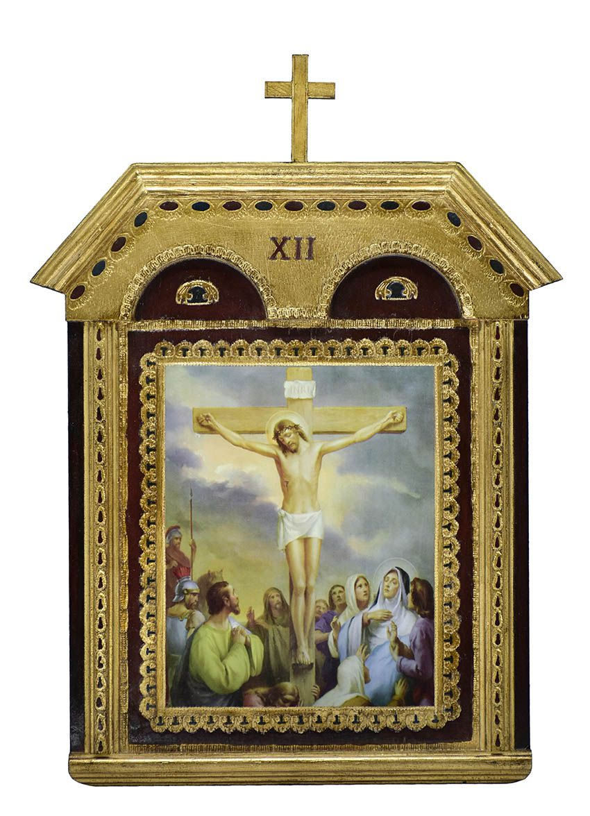 Via-Sacra Capitel 15 quadros VS10