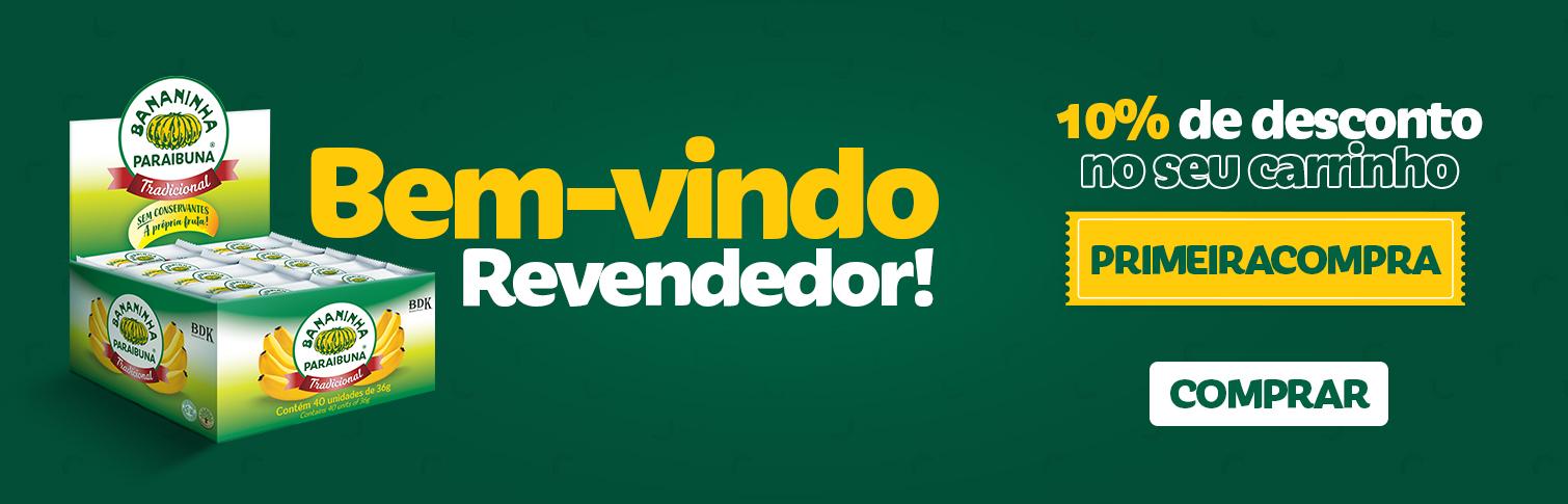 Bem-vindo Revendedor!