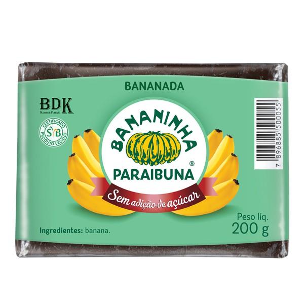 Bananada sem Açúcar Tablete 200g