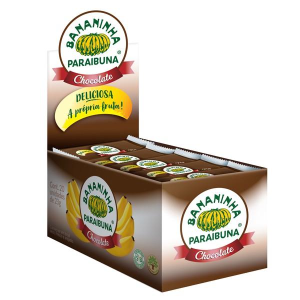Bananinha Paraibuna Chocolate Caixa 460g