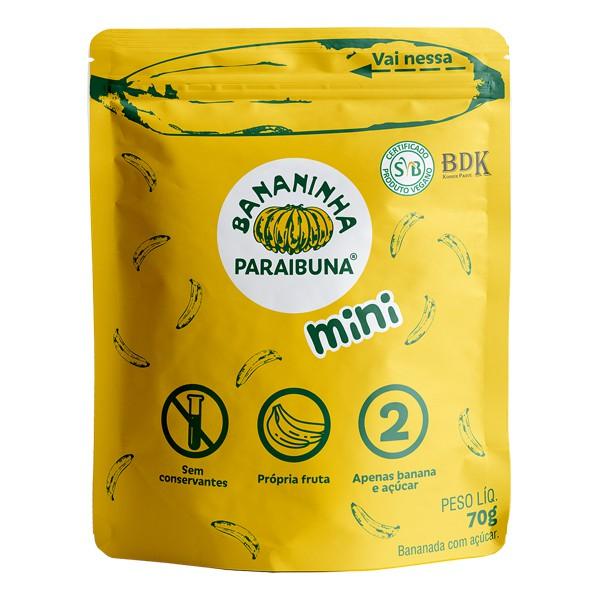Bananinha Paraibuna Mini Tradicional 70g