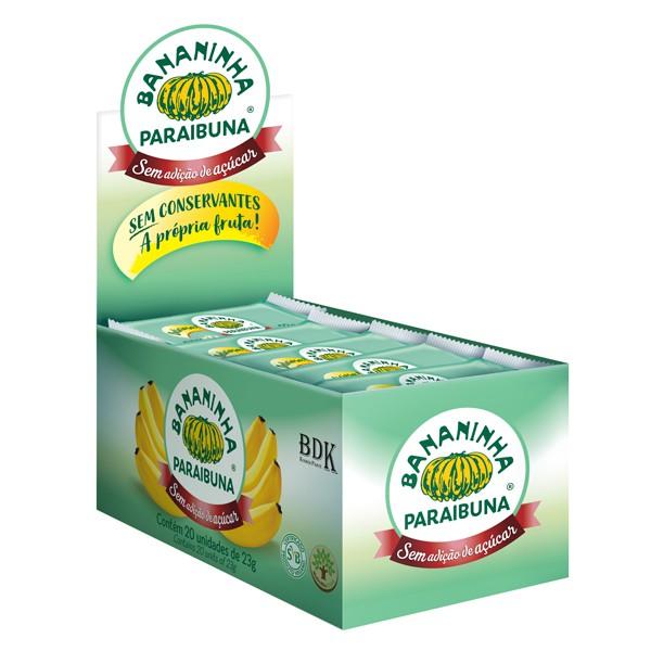 Bananinha sem Açúcar Caixa 460g (20x23g)