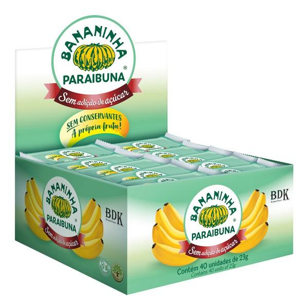 Bananinha sem Açúcar Caixa 920g (40x23g)