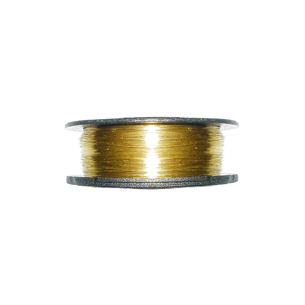 Arame Copper Wire - Dourado - 0.25mm - 50m  - Nathalia Bijoux®