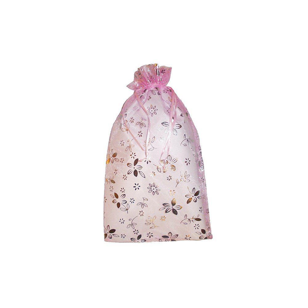 Saco de Organza - Rosa  - Nathalia Bijoux®