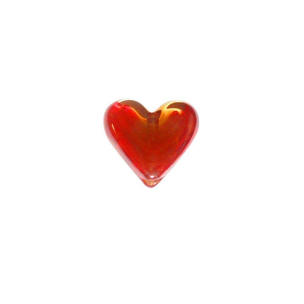 Entremeio Coração de Murano - 37mm  - Nathalia Bijoux®