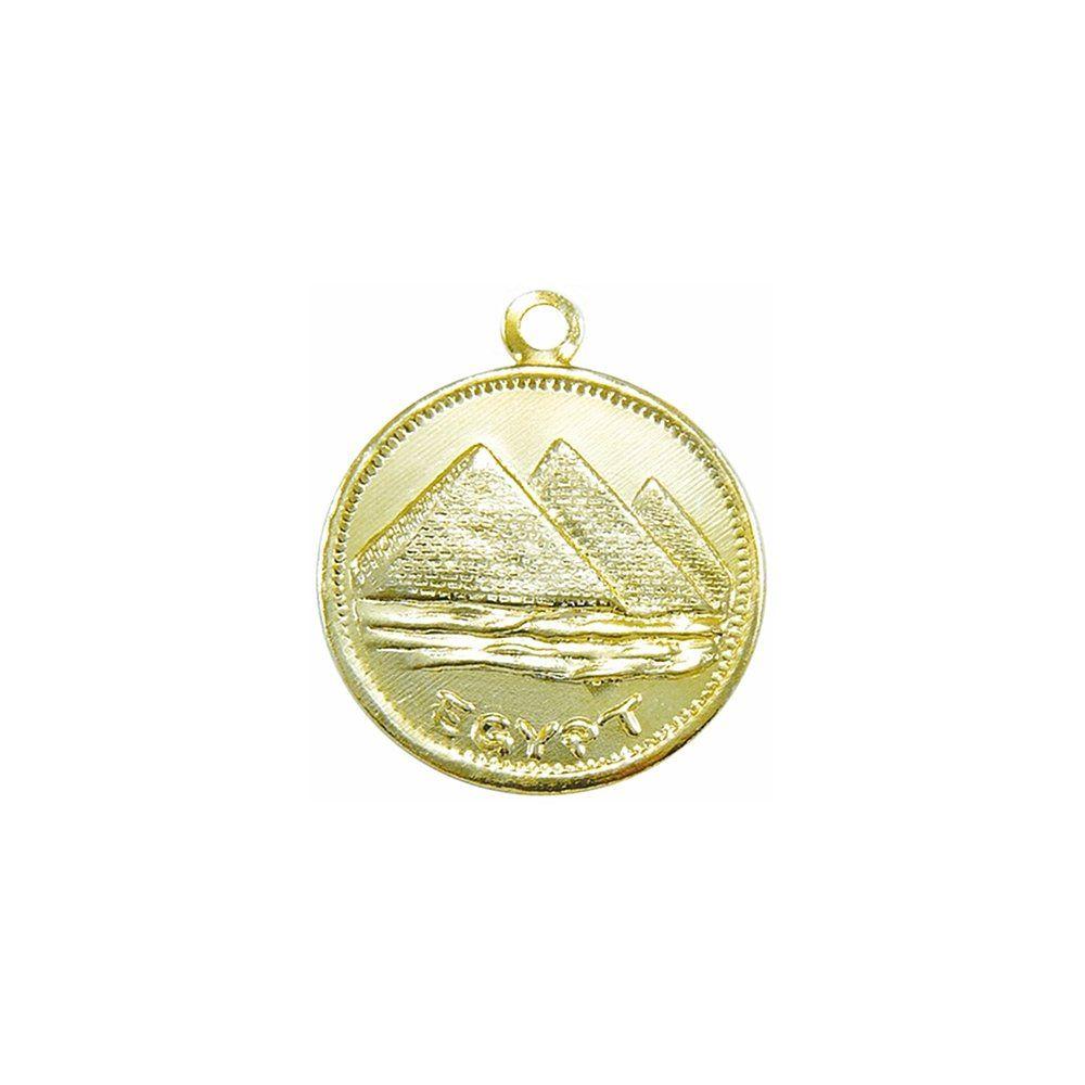 Moeda Cigana - Egito - 24mm  - Nathalia Bijoux®