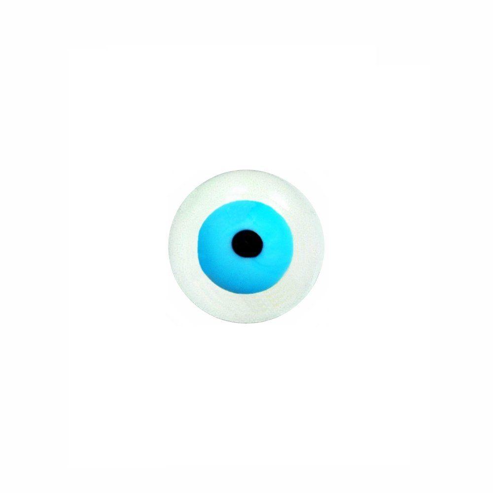 Entremeio Bolinha Olho Grego de Murano - 13mm  - Nathalia Bijoux®