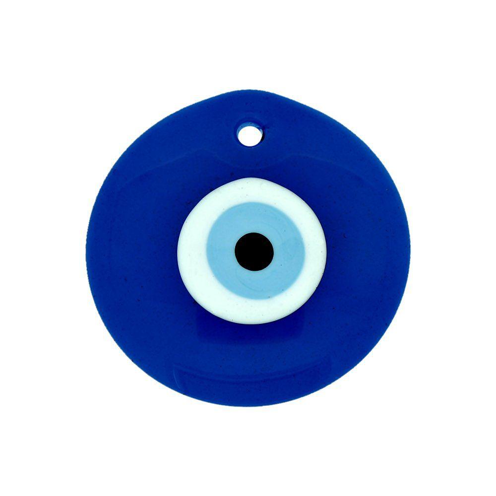 Pingente Olho Grego de Murano - 5cm  - Nathalia Bijoux®