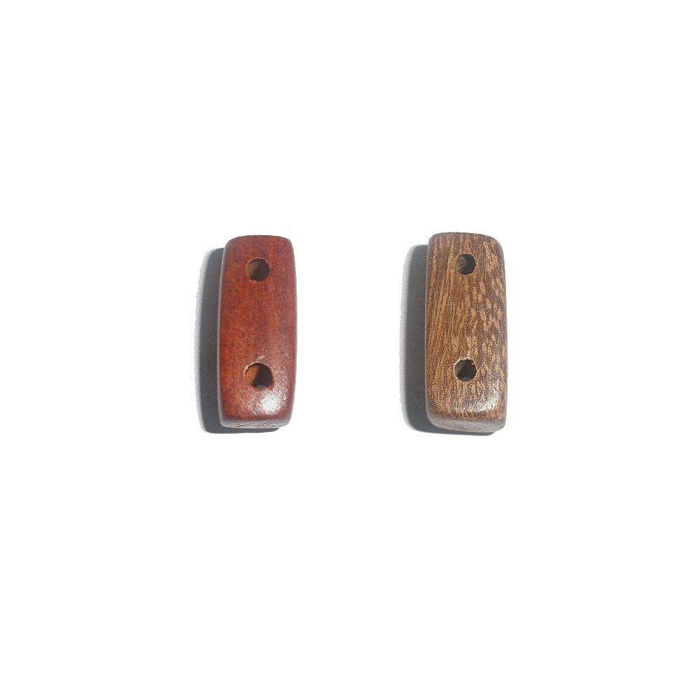 Separador de Madeira 2 Saídas - 21mm  - Nathalia Bijoux®
