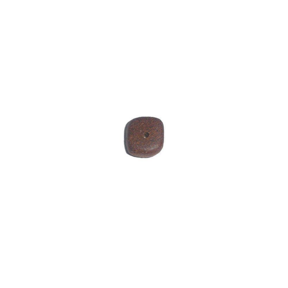 Entremeio de Madeira - 10mm  - Nathalia Bijoux®