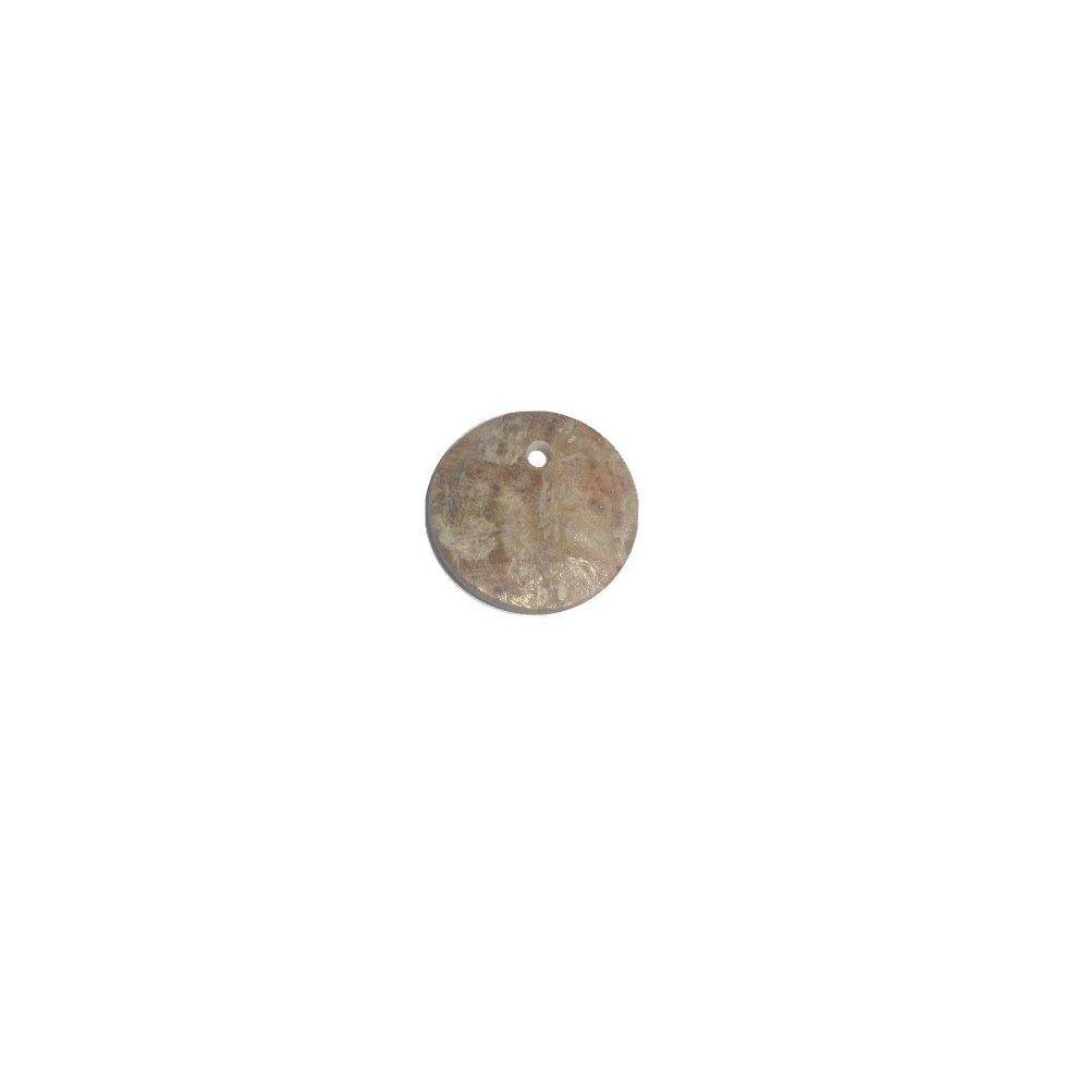 Pingente de Madrepérola - 12mm  - Nathalia Bijoux®