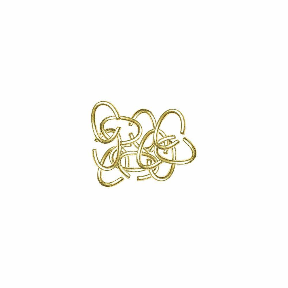 Argola Oval de Metal Dourado - 7mm - 25g  - Nathalia Bijoux®