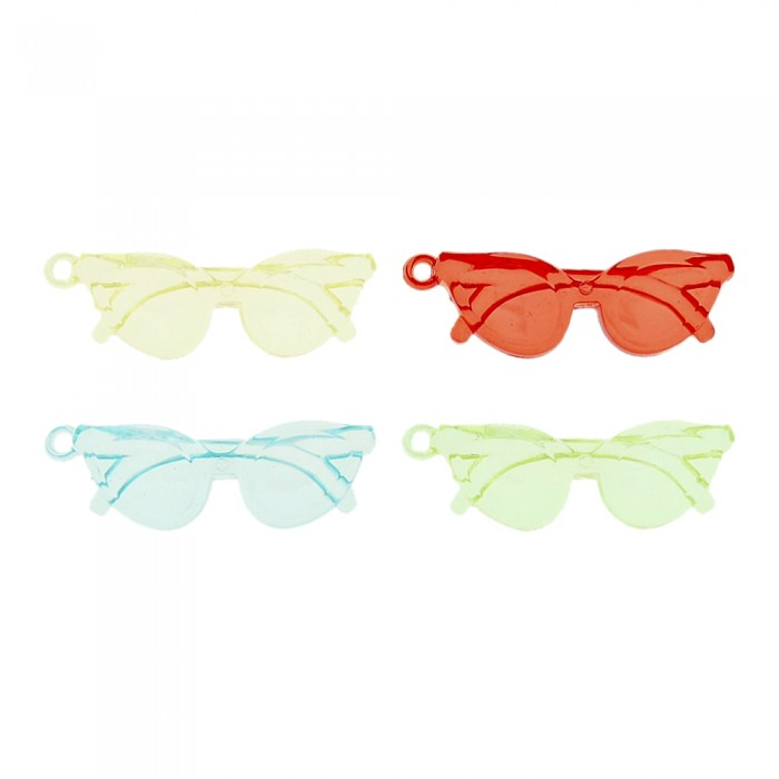 Pingente Óculos de Acrílico - 55mm  - Nathalia Bijoux®