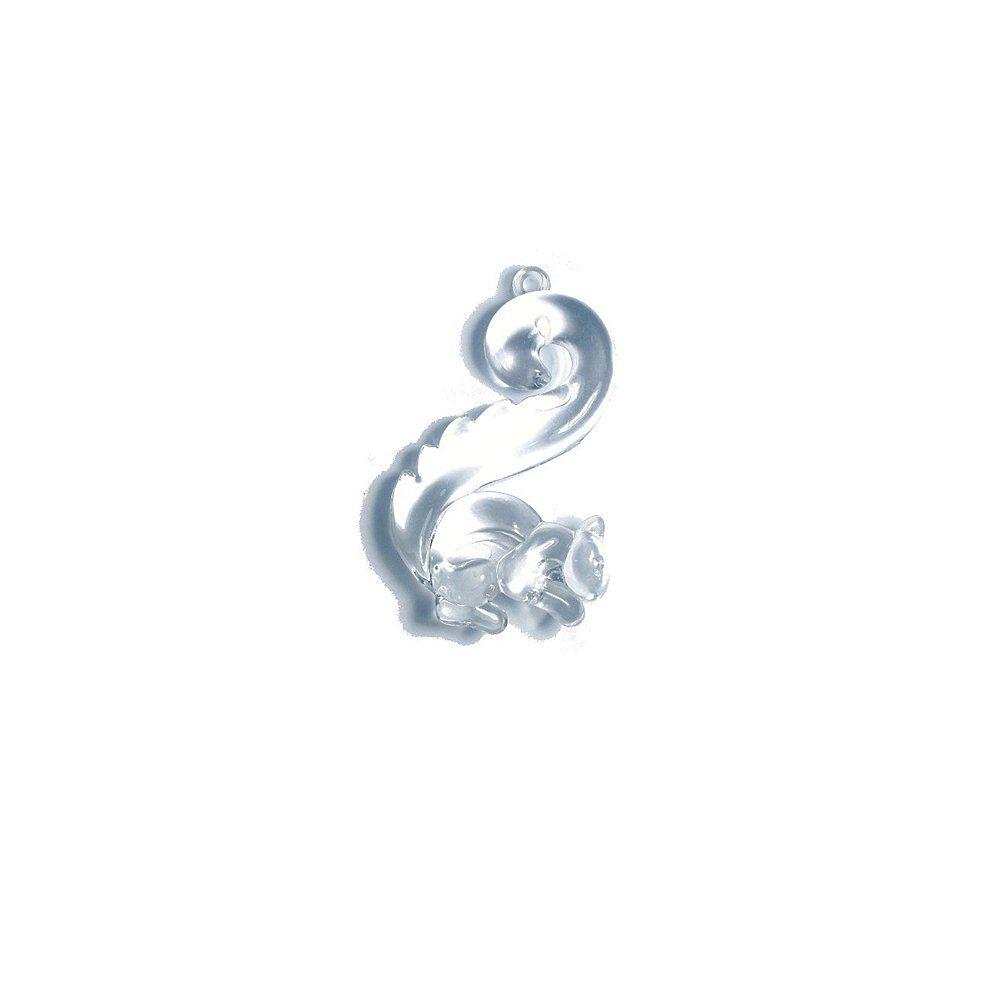 Pingente Esquilo de Acrílico - 60mm  - Nathalia Bijoux®
