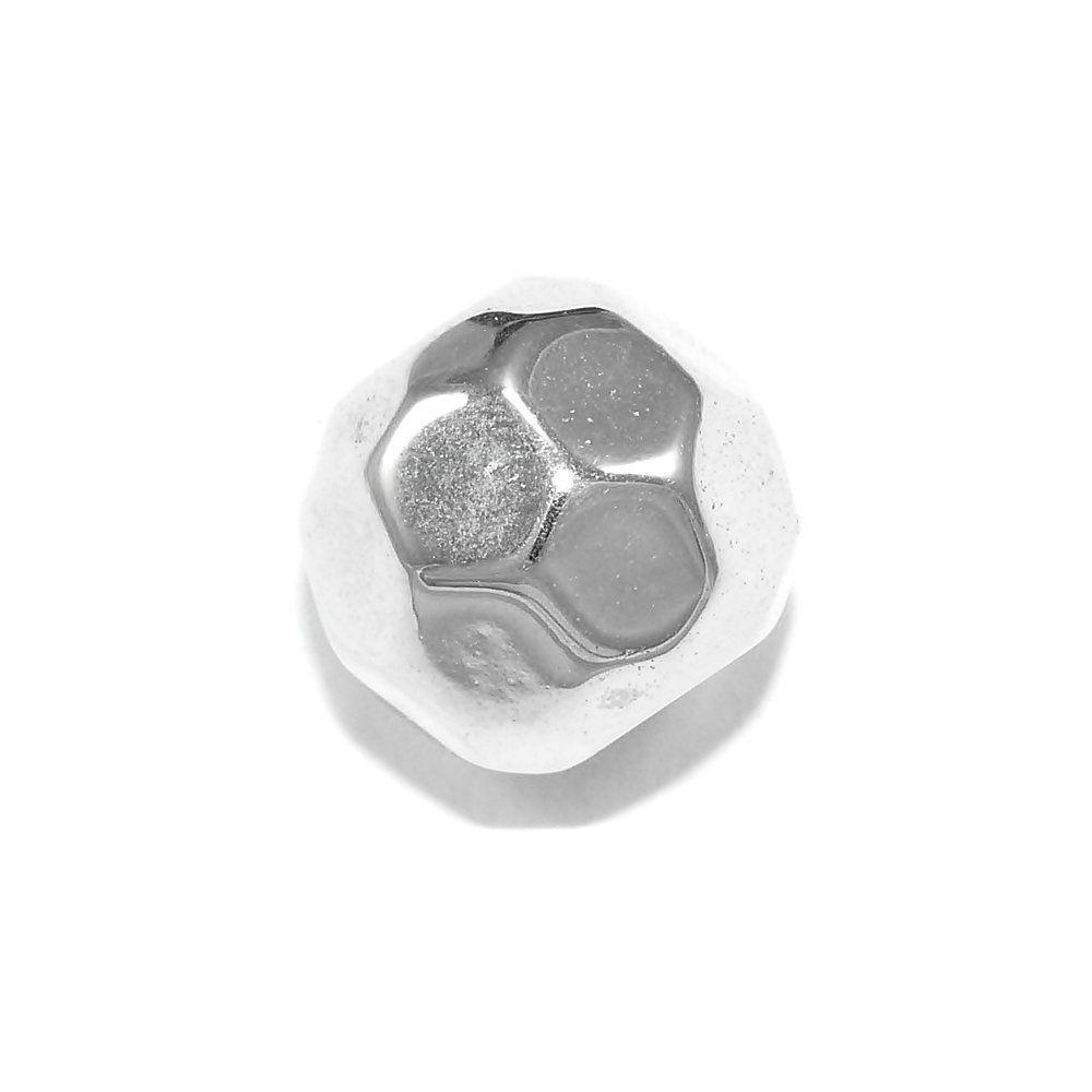 Entremeio Bolinha de ABS - 12mm  - Nathalia Bijoux®