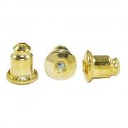 Tarraxa Dourada - 6mm - 10pares