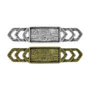 Aplique Base para Chaton de Metal - 63mm