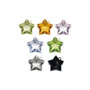 Pingente Estrela de Acrílico - 49mm