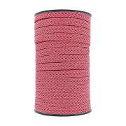 Cordão Encerado Trançado - Pink - 12mm - 50m